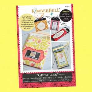 Giftables Volume 1 - In-the-Hoop Pocket Tags by Kimberbell