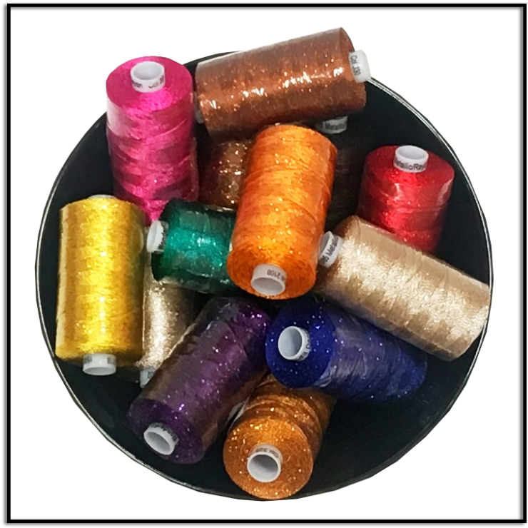 Wonderfill Dazzle Specialty Thread Perfect for Sergers