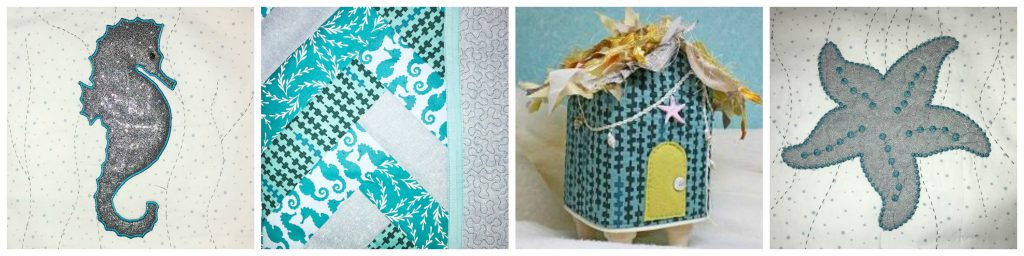 The Best of Baby Lock Destiny 2, Sashiko 2, Embellisher, Triumph Under the Sea Projects for Home