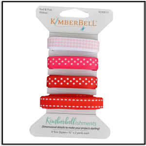 Kimberbell Red and Pink Ribbon KDKB101
