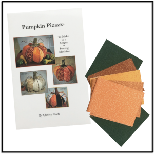 Pumpkin Pizazz for Serger and Sewing Machine by Christy Clark for Keep Me In Stitches