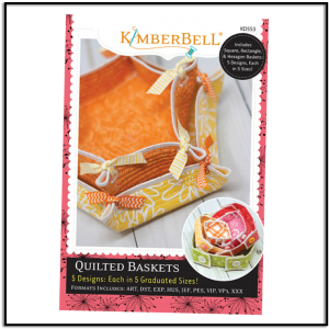 Kimberbell Quilted Baskets KD553