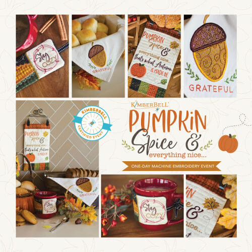 Kimberbell Exclusive Pumpkin and Spice at Keep Me in Stitches Tampa