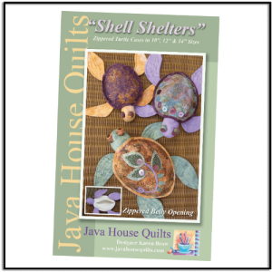 Shell Shelters Pattern by Karen Brow for Java House Quilts