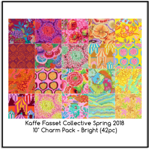 Kaffe Fasset Collective Spring 2018 Charm Pack Bright Layer Cake