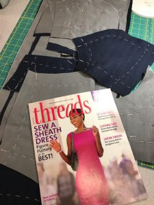 The Sheath Dress Workshop with Helen Haughey at Keep Me In Stitches