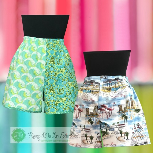 First Choice Boxers sewing class at keep me in stitches