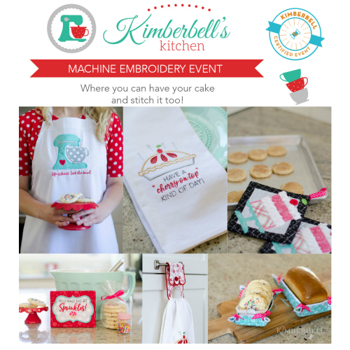 Kimberbell's Kitchen, a Kimberbell Dealer Exclusive Event at Keep Me In Stitches Tampa and Largo Florida