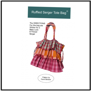Ruffled Serger Tote Pattern by Carol Stricker