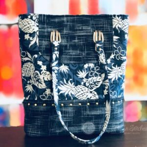 Tiffany Tote by Sallie Tomato Sewing Class at Keep Me In Stitches
