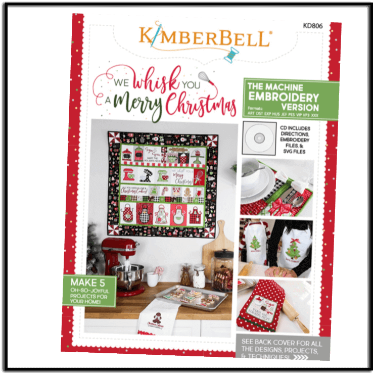 Christmas Quilt.We Whisk You A Merry Christmas Quilt For Embroidery