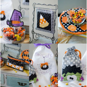 Kimberbell's Too Cute to Spook embroidery party at Keep Me In Stitches