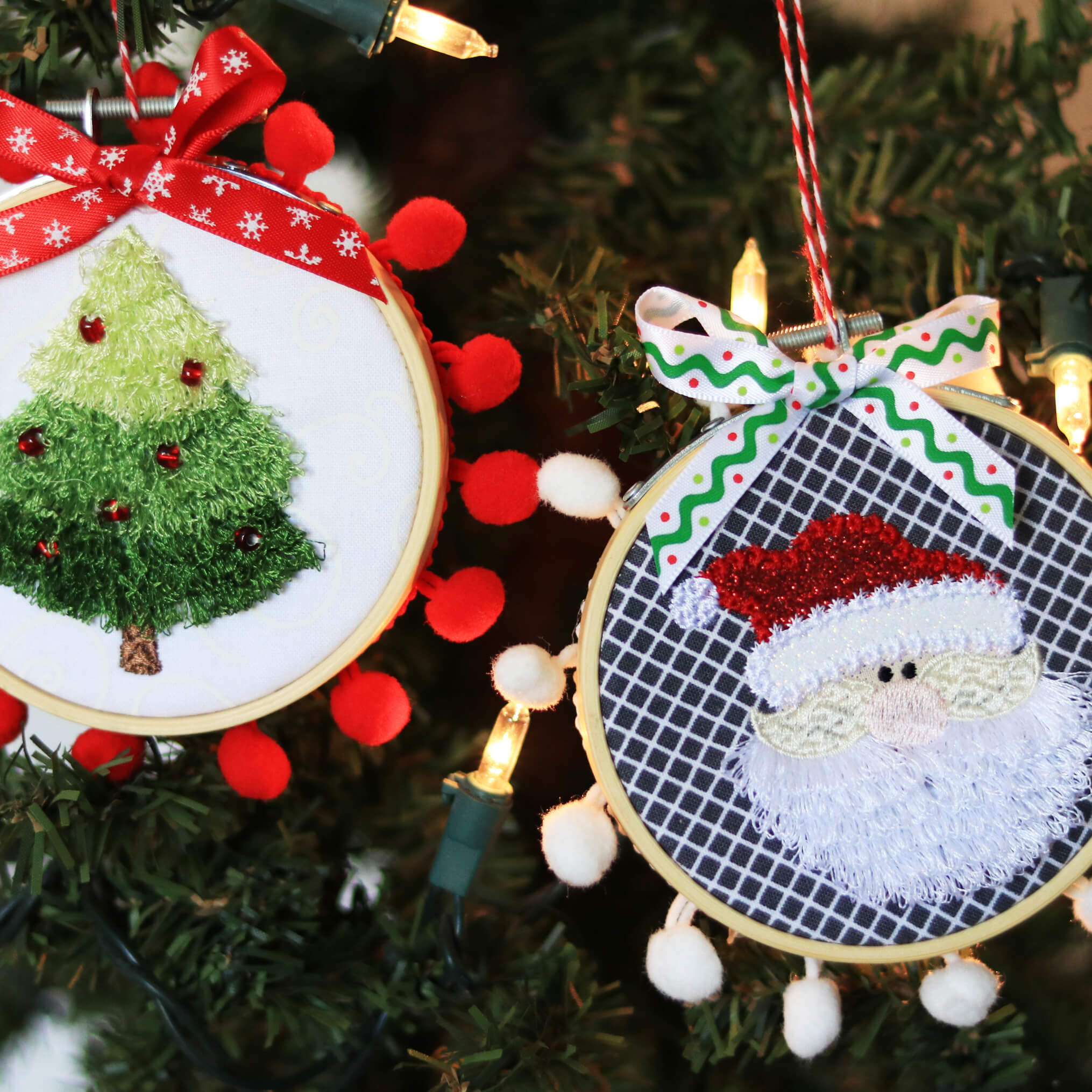Kimberbell Happy Hoop Decor Vol 1 Whimsical Christmas Ornaments