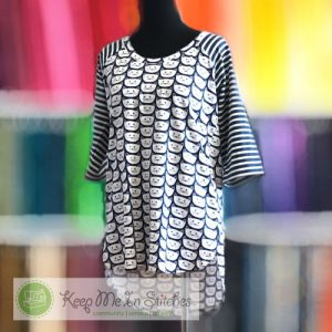 Belleview Top, a serger class at Keep Me In Stitches Tampa