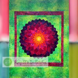 Dahlia, by Quiltsmart, a class at Keep Me in Stitches