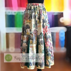 Godet Panel Skirt No.9 class at Keep Me In Stitches