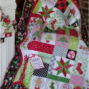 Kimberbell's Jingle All the Way Block of the Month embroidery classes at Keep Me In Stitches
