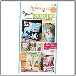 Kimberbell Bench Pillow Jan-Apr KD570