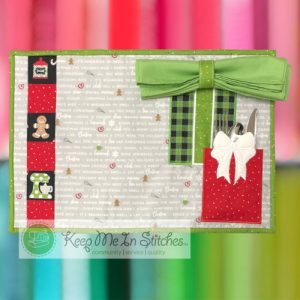 Tied with a Bow Placemat from We Whisk You a Merry Christmas