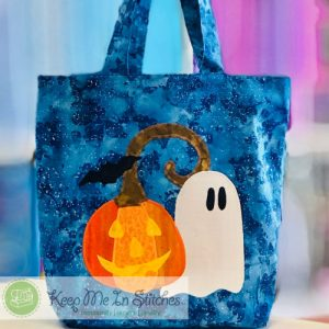 Trick or Treat Applique Bag