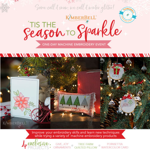 Tis the Season to Sparkle, a Kimberbell Exclusive Event at Keep Me In Stitches