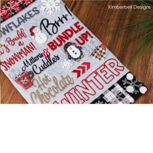 Kimberbell Winter Mug Rug Sew in the New Year 2019 at Keep Me In Stitches