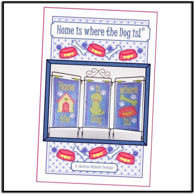 Home is Where the Dog Is by Janine Babich