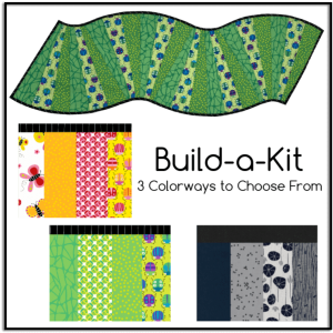 Snappy Splendor 10 Degree Reversible Table Runner Build a Kit, 3 colorways to choose from