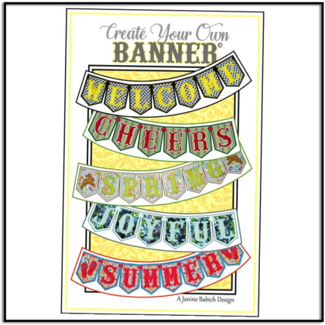 Create Your Own Banner by Janine Babich Designs