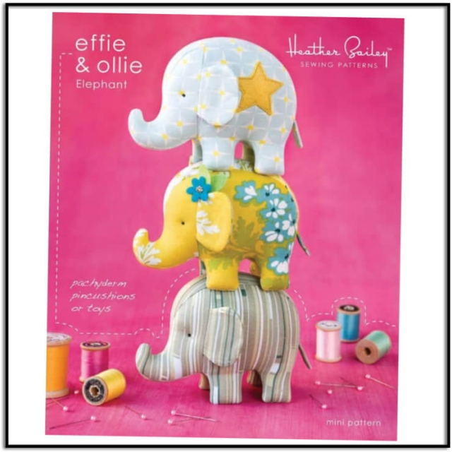 Effie and Ollie Pattern by Heather Bailey