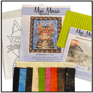 The Hipster Kitty Mini Mosaic Kit