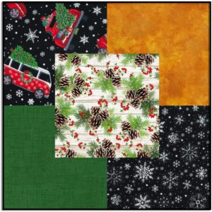 Timeless Bundle #4 Home for the Holidays 5 Half-Yard Cuts