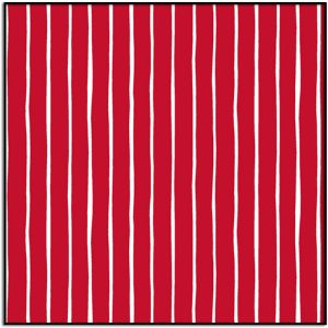Very Merry Stripe Red A-9399-R