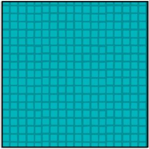 Very Merry Grid Teal A-9402-T