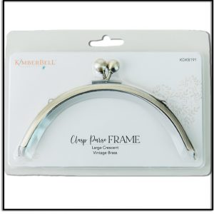 Kimberbell Large Crescent Clasp Purse Frame