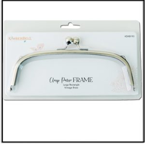 Kimberbell Large Rectangle Clasp Purse Frame