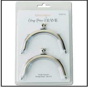 Kimberbell Small Crescent Clasp Purse Frames