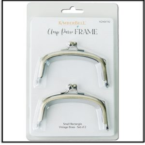 Kimberbell's Small Rectangle Clasp Purse Frames