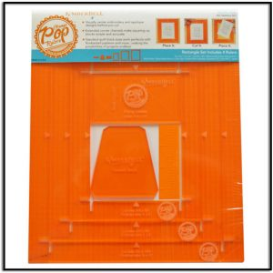 Kimberbell Orange Pop Rulers Rectangle