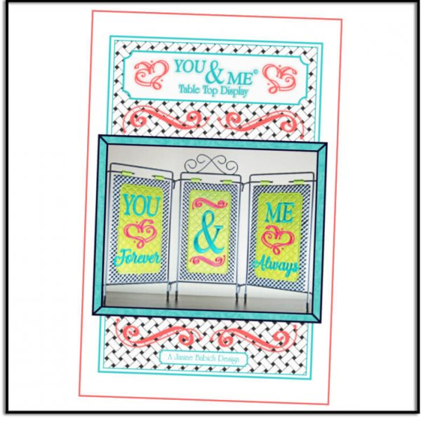 You & Me Table Top Display