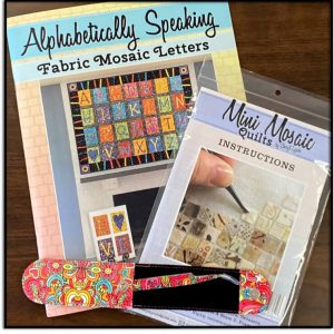 Alphabetically Speaking Mini Mosaics Instructions Tweezers