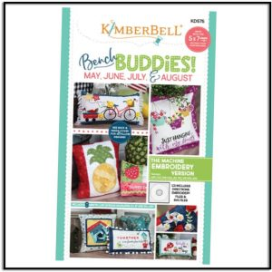 Kimberbell Bench Buddies May June July August KD575