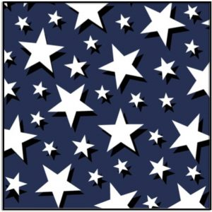 Windham Fabric Pride & Honor White Stars on Field of Blue 51770-1