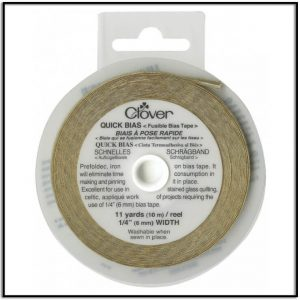 Clover Quick Bias Fusible Bias Tape Gold
