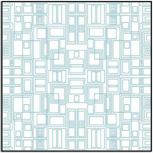 Good Vibes Circuit Board in Turquoise from Contempo Studio