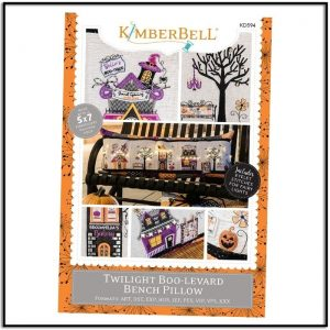 Kimberbell Twilight Boo-levard Embroidery CD