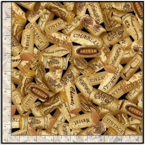 Wine Corks from Timeless Treasures