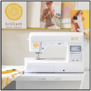 Baby Lock Brilliant Sewing Machine Genuine Collection