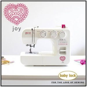 Baby Lock Joy Sewing Machine Genuine Collection