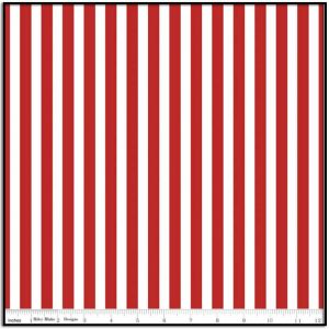 Pirate Tales Stripes Red from Riley Blake C9686-RED